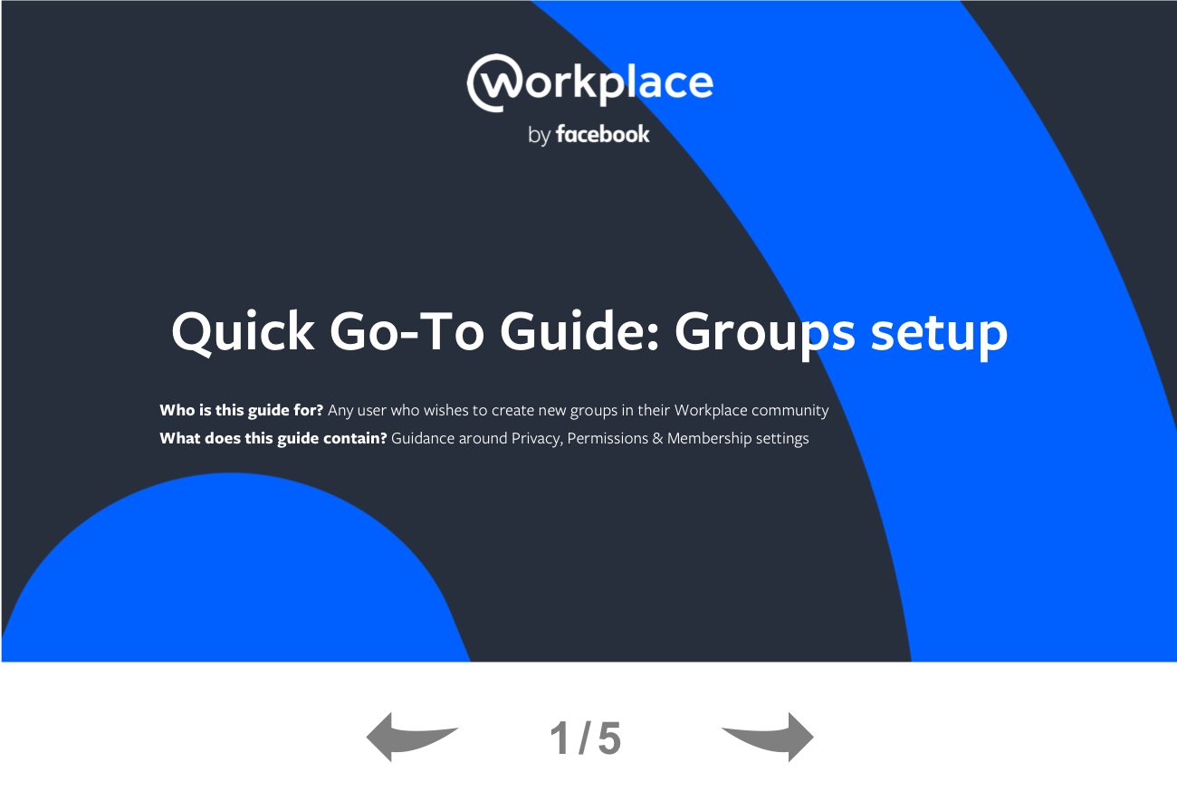 A Quick Guide to Workplace Groups