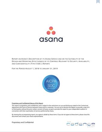 Asana Type II SOC 2