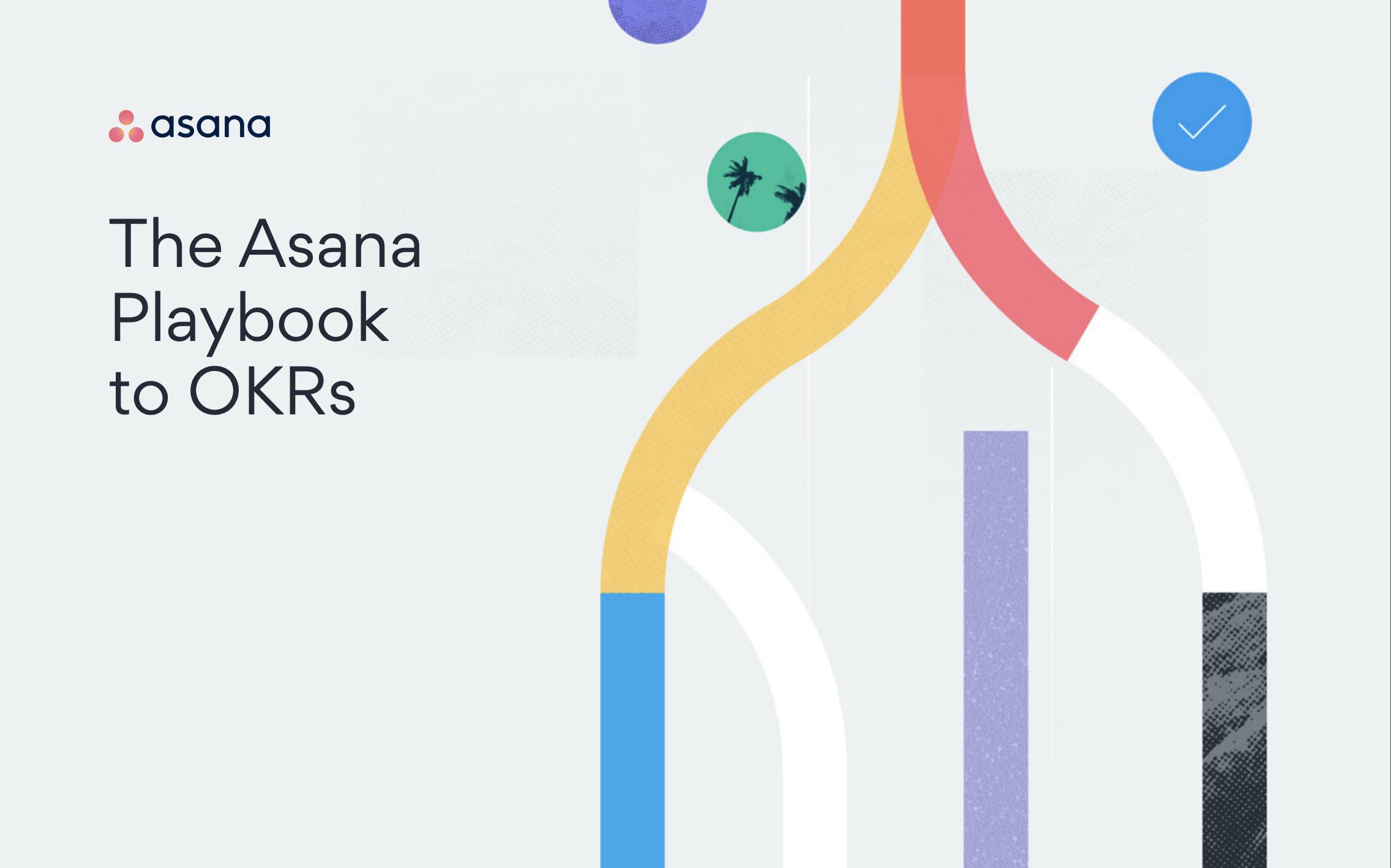Asana - The Asana Playbook to OKRs Ebook - Cover