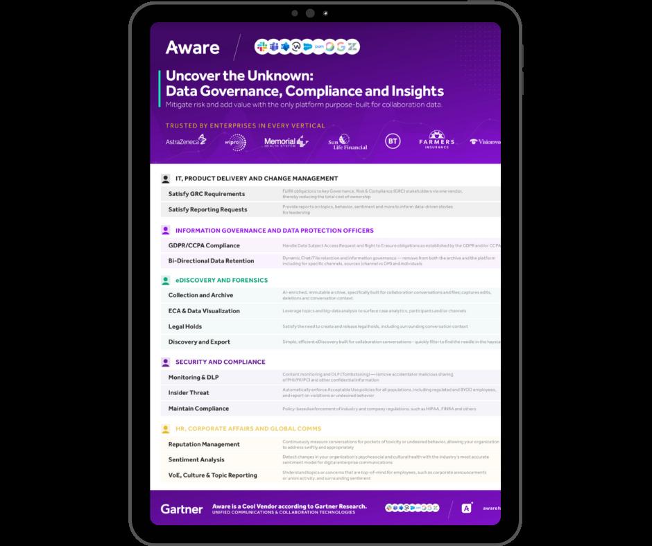 Aware - Compliance Overview - Transparent - Ipad Portrait