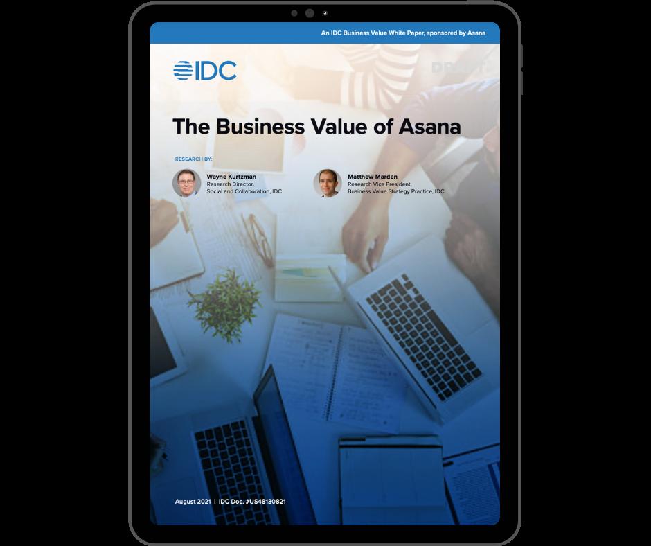 Business Value of Asana