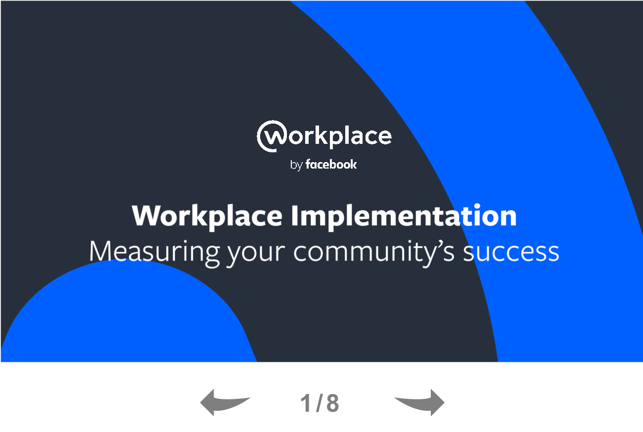 Measuring Your Community's Success on Workplace by Facebook