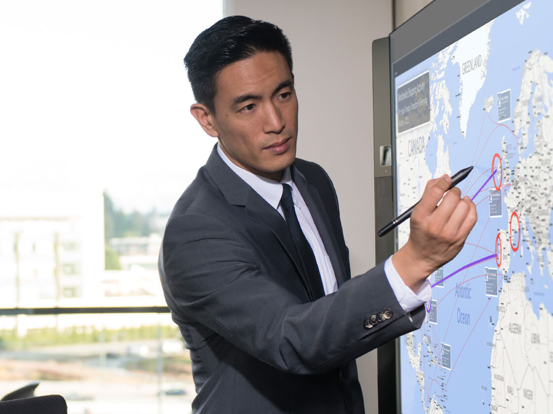 Microsoft Surface Hub 100 TouchPoint uk pricing services