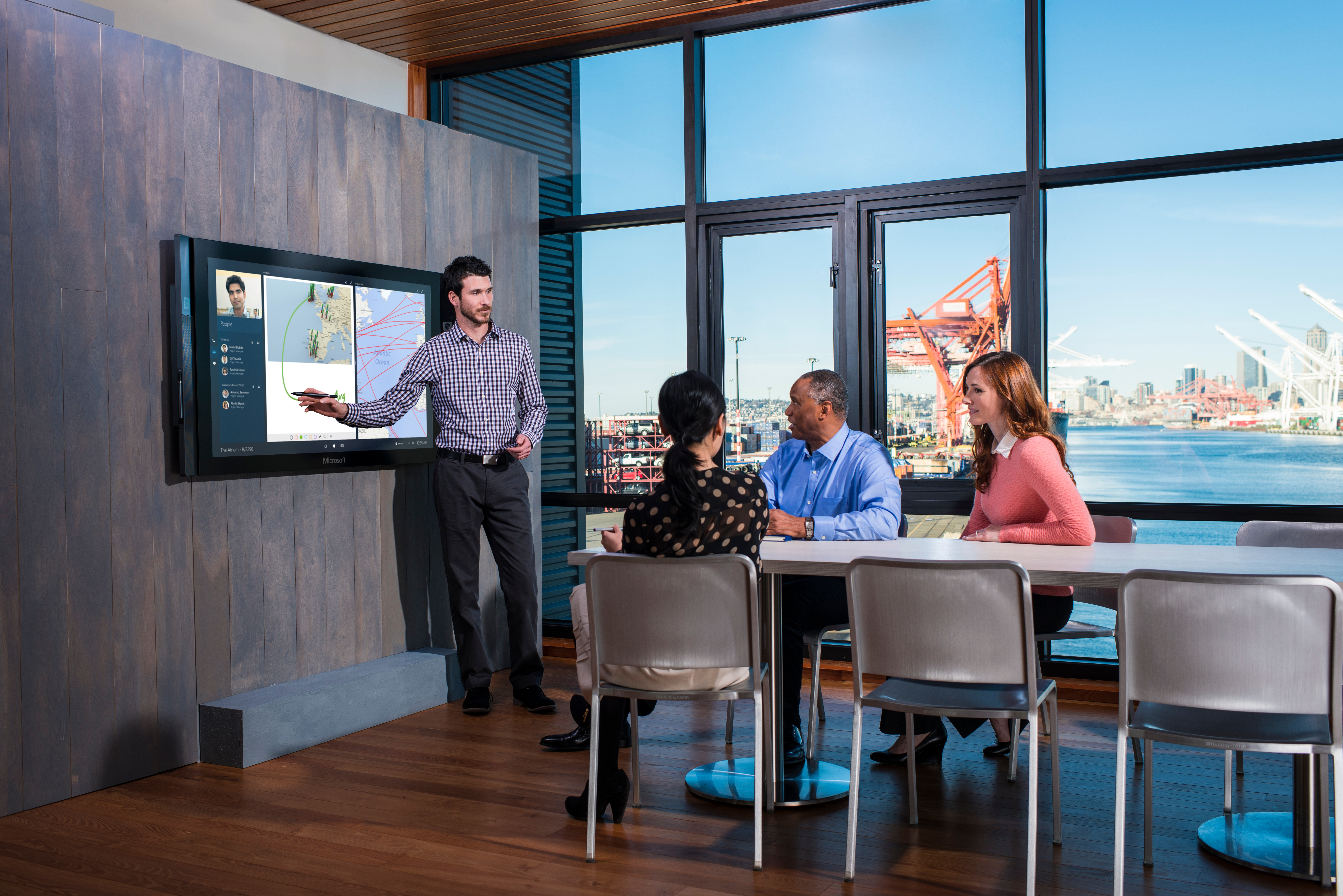 Microsoft Surface Hub Agile Working uk pricing