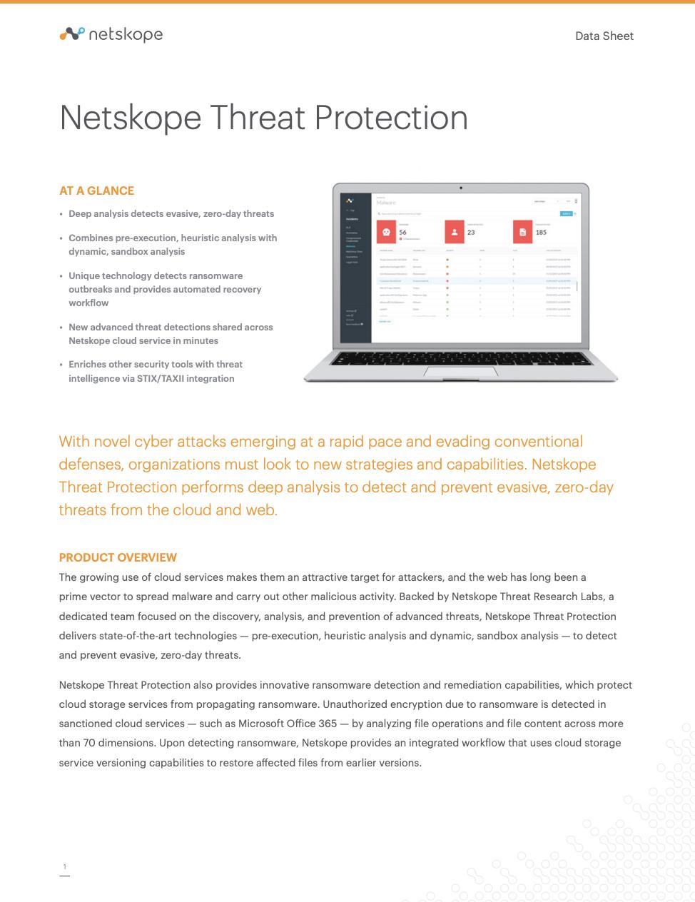 Netskope Threat Protection
