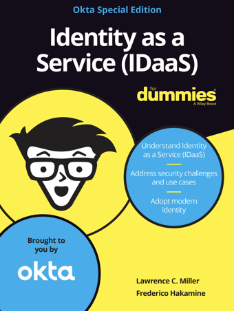 Okta - Identity as a Service (IDaaS) for Dummies (eBook)
