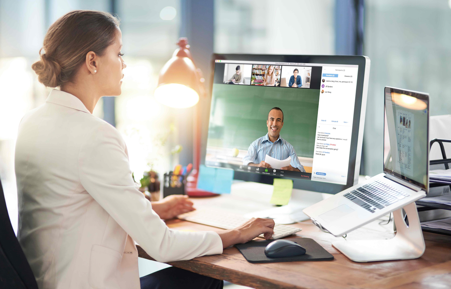 Zoom video webinars - easy to share