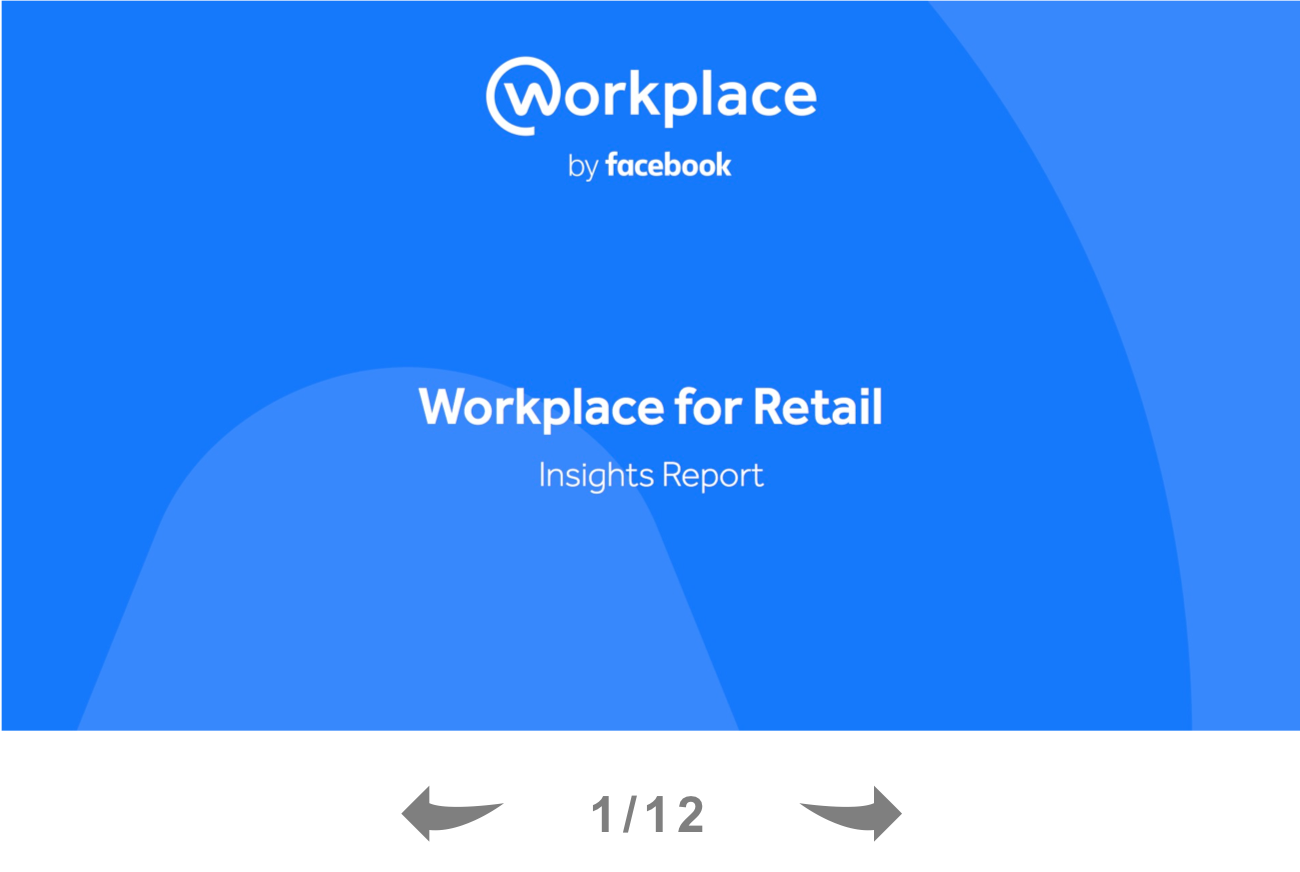 Workplace for Retail Insights Report Thumb