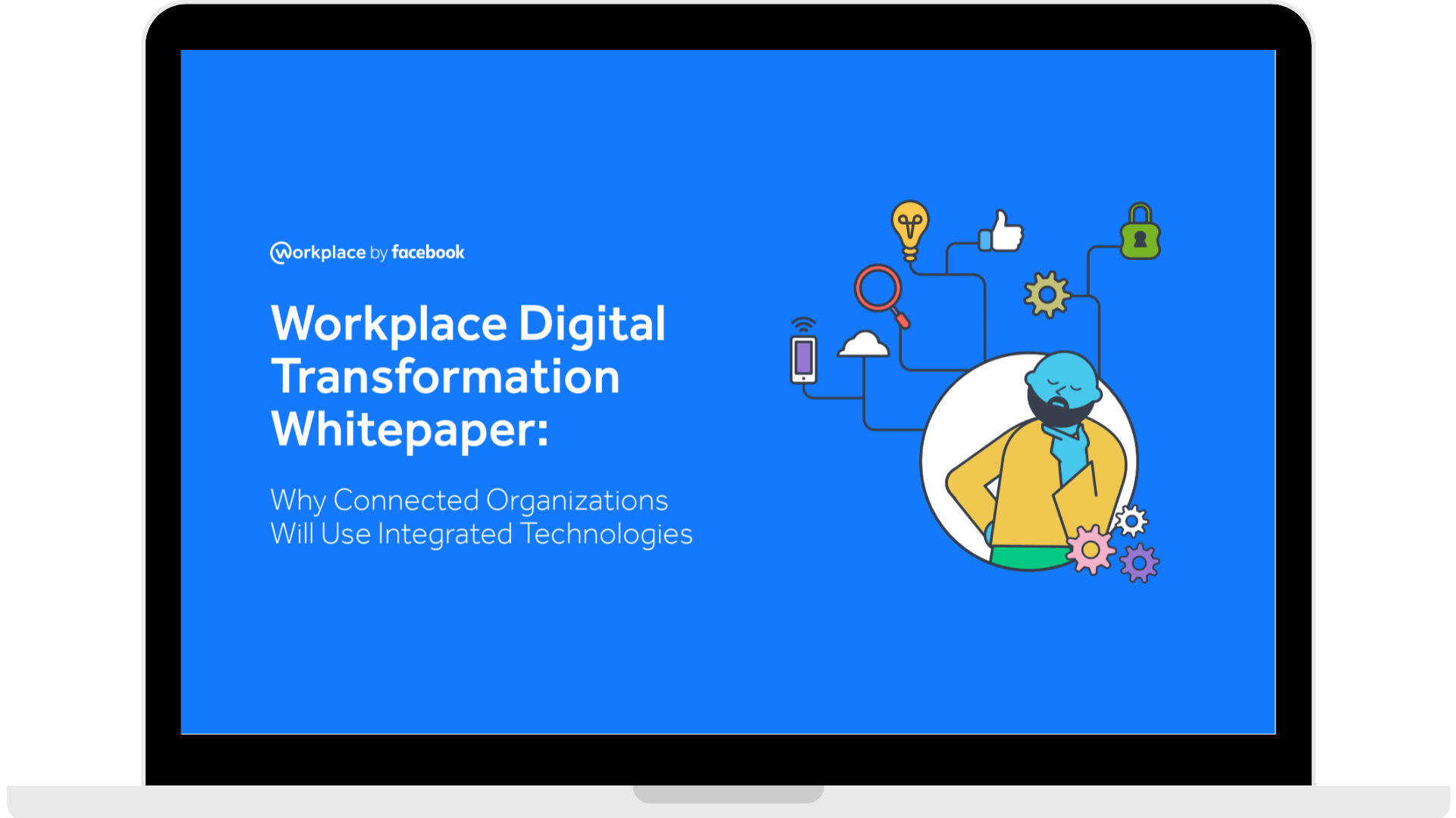 WPF - Whitepaper - Why Connected Organisations Will Use Integrated Technologies - Laptop - Transparent