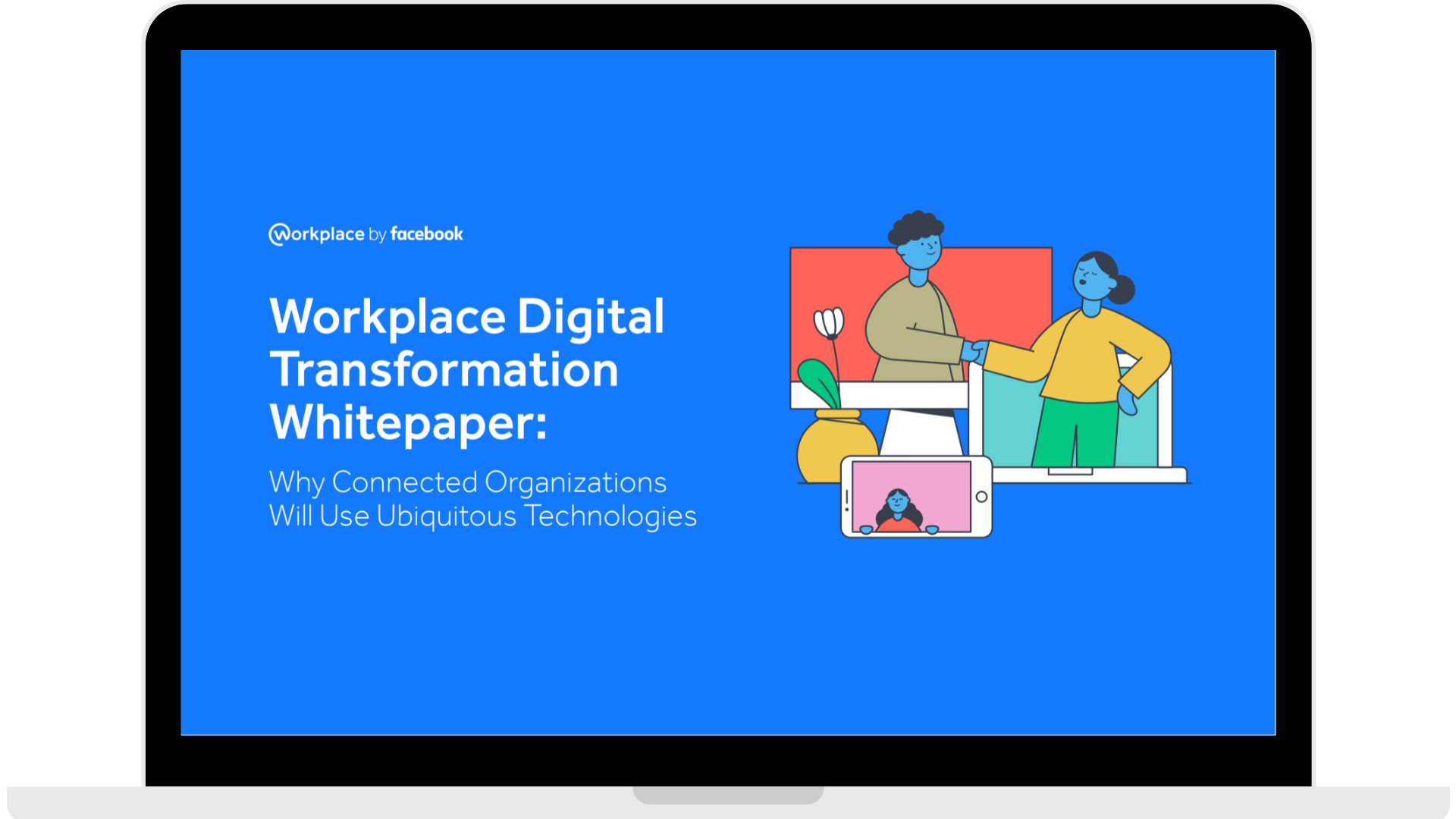 WPF - Whitepaper - Why Connected Organisations Will Use Ubiquitous Technologies - Laptop - Transparent