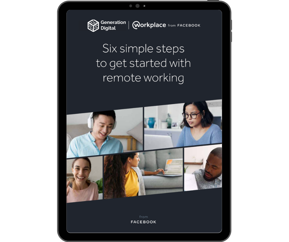 WPF Six simple steps to get started with remote working - Ipad Portrait (1)