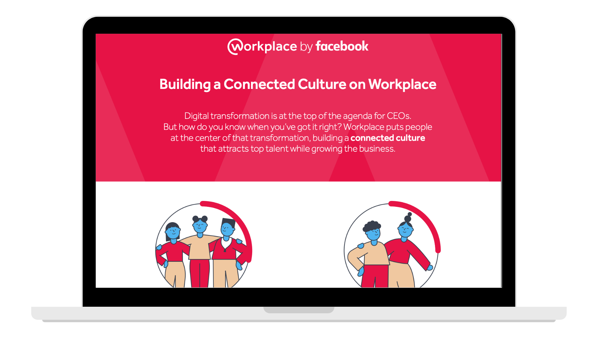 _Building a connect culture on Workplace - Laptop