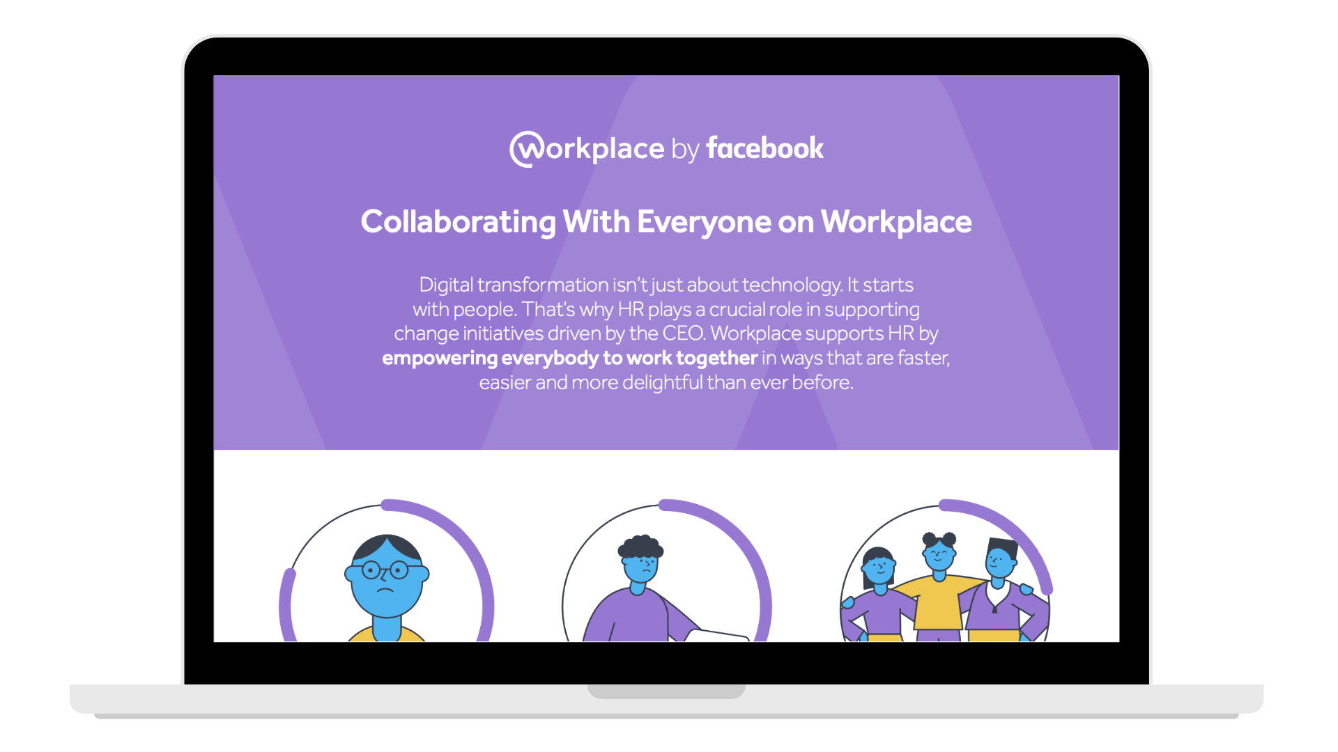 _building collaborating with everyone HR - Laptop