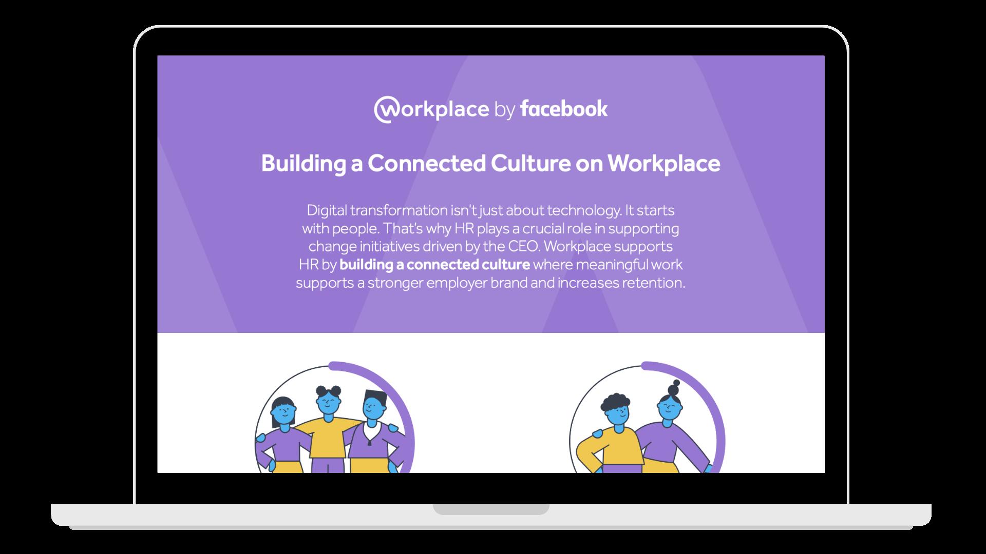 _building connected culture HR - Laptop
