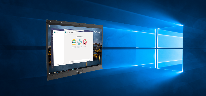 Windows Collaboration Display by Avocor