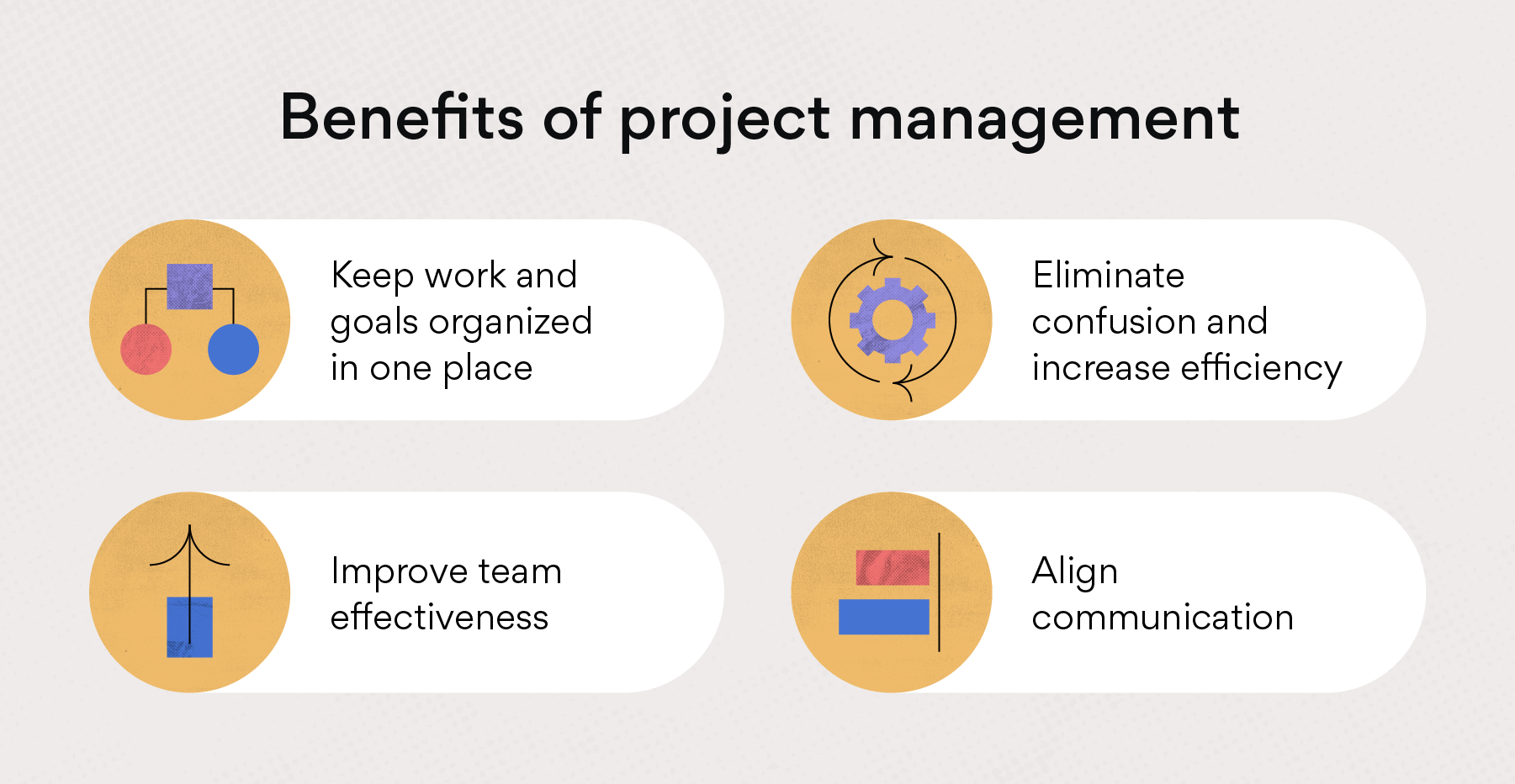 benefits of project management asana