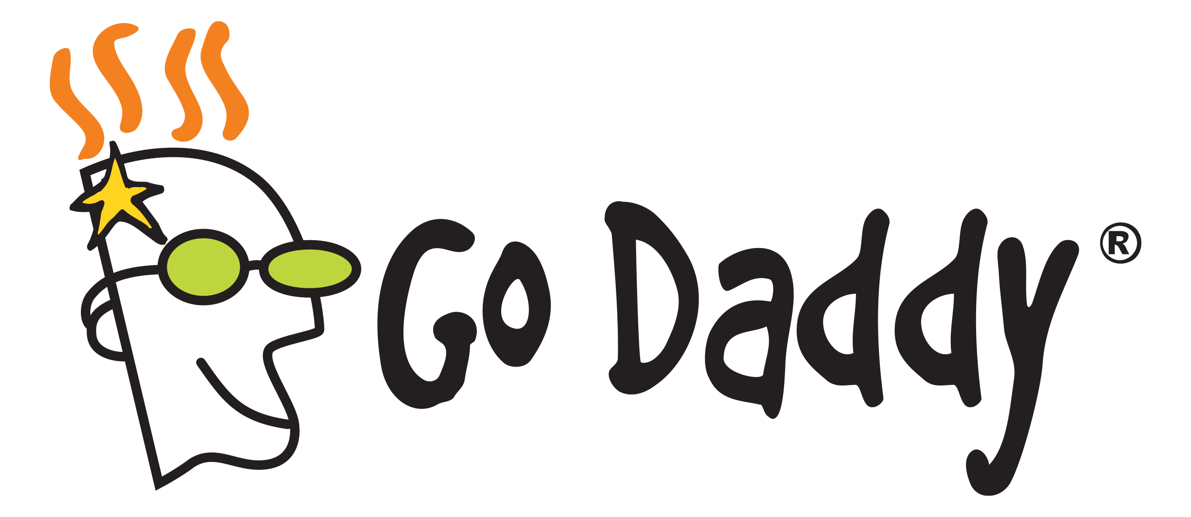 GoDaddy logo - Zoom customer