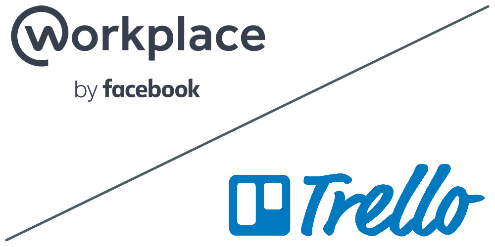 Workplace and Trello logos