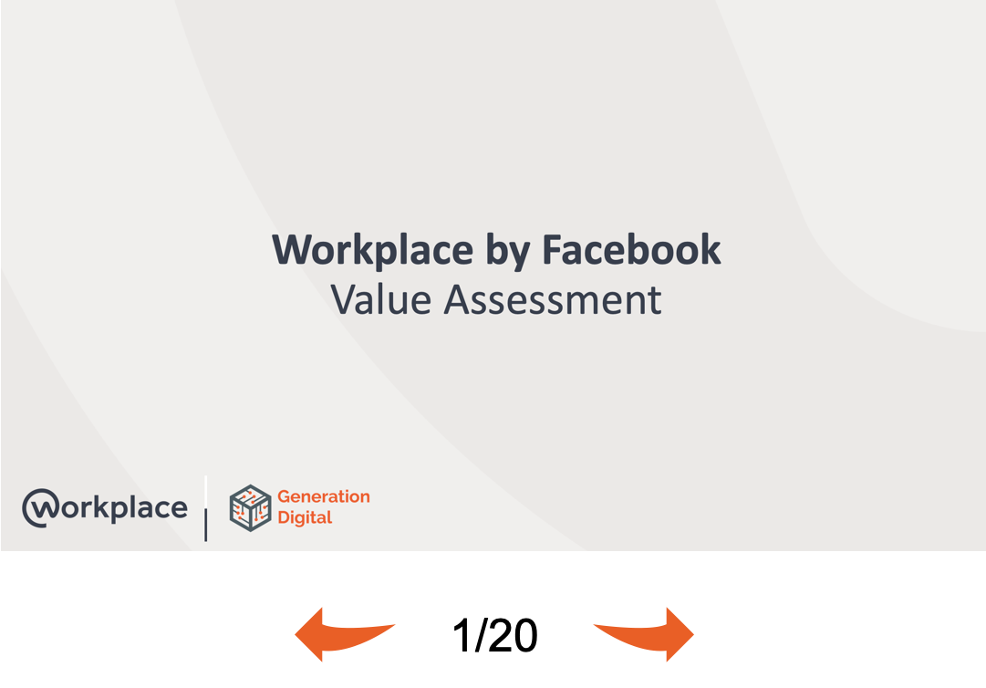 Workplace by Facebook Blueprint