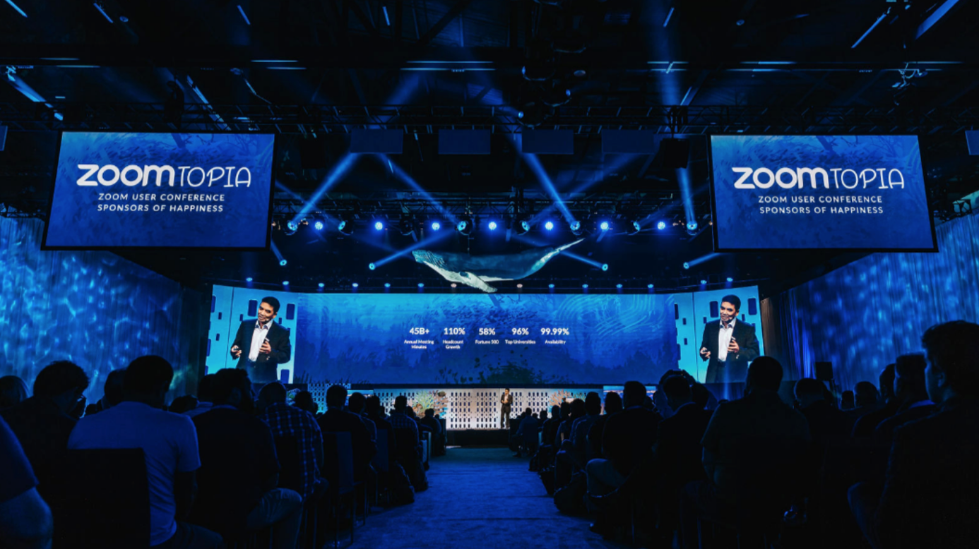 Zoomtopia 2018 user conference keynote
