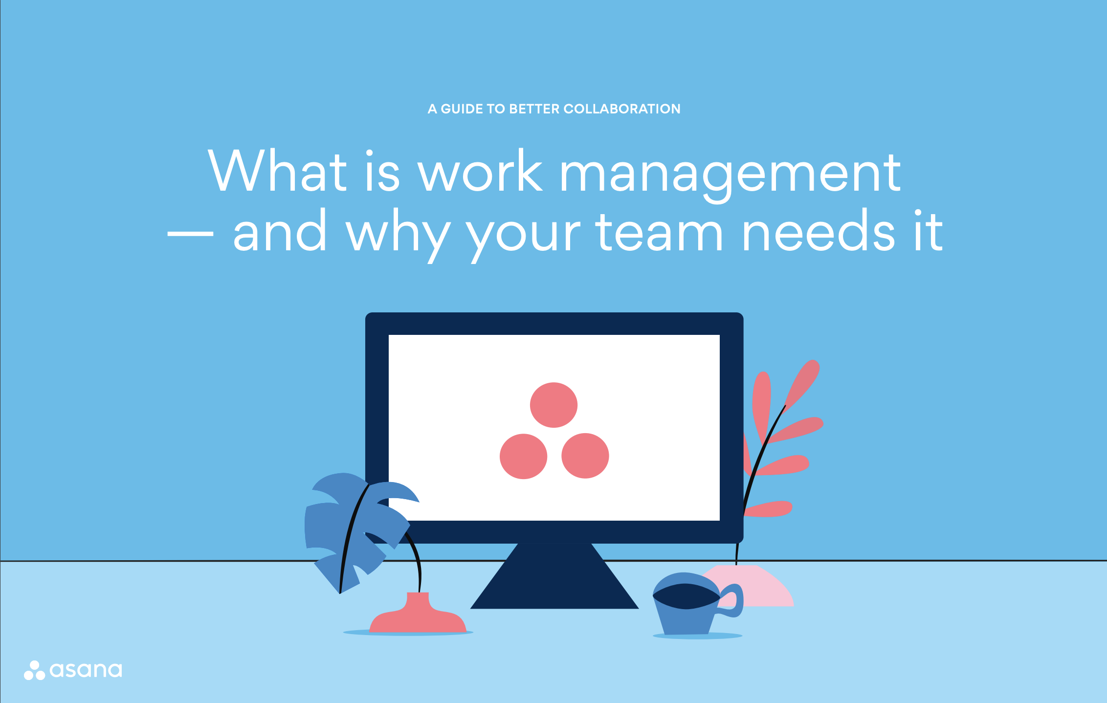 Asana - What is work management and why your team needs it Ebook - Cover