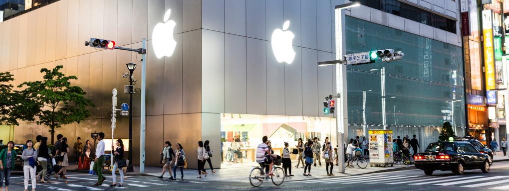 Apple Store Hybrid Retail